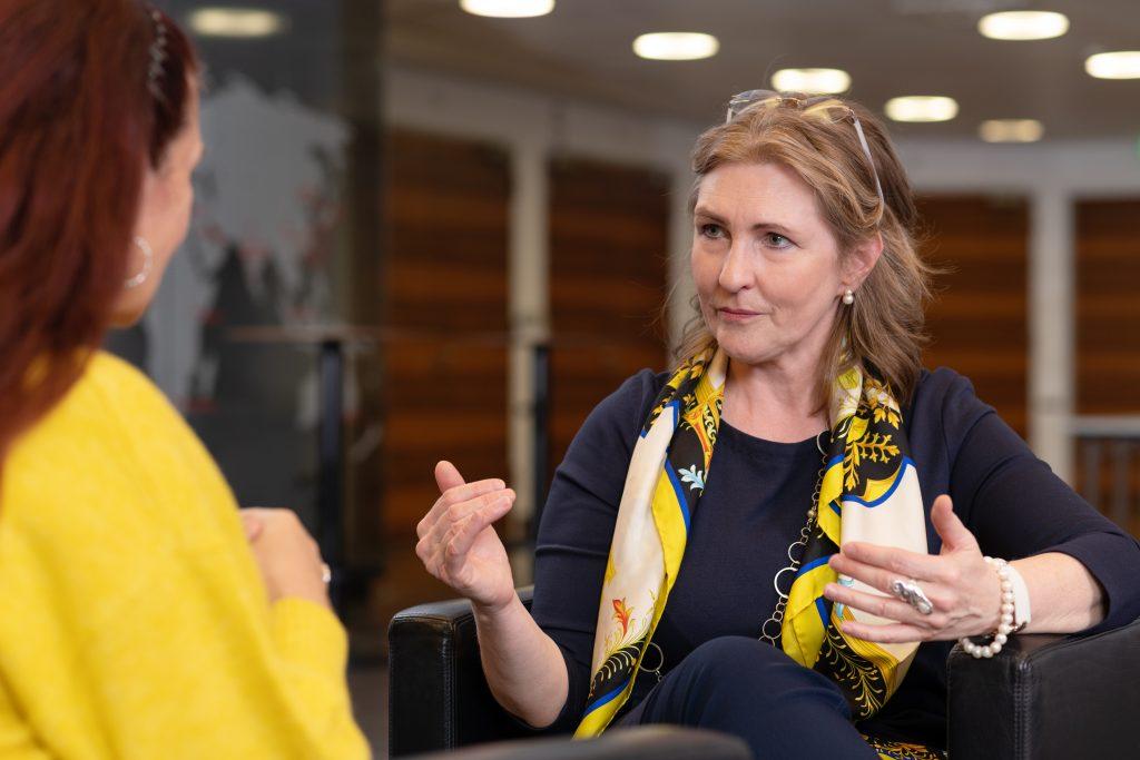 Pressefoto Sabine M. Fischer Interview 3